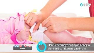 Hareketli bebeğin altı nasıl değiştirilir?