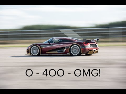 Speed king: Koenigsegg Agera RS goes from 0 to 249 mph and back in record time