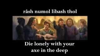 Tankard Basher (lyrics and translation)