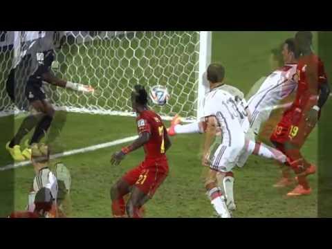 Germany v Ghana, World Cup 2014 Full Highlights