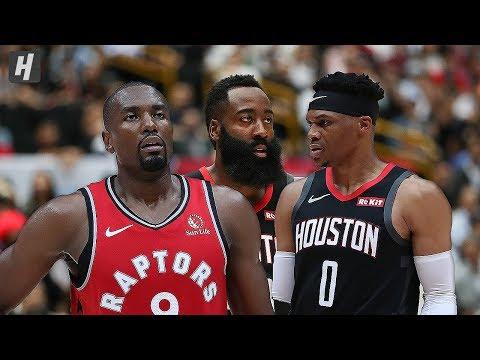 Houston Rockets Vs Toronto Raptors - Full Game Highlights | October 10, 2019 | 2019 NBA Preseason