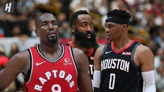 Houston Rockets vs Toronto Raptors - Full Game Highlights | October 10, 2019 | 2019 NBA Preseason