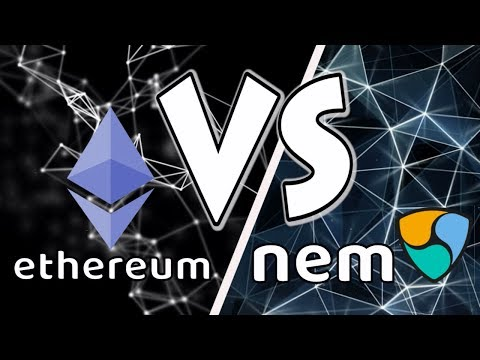 NEM vs Ethereum. Programmer judges the crypto projects.