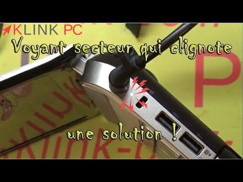 Comment réparer quand votre PC portable HP ne démarre plus voyant d'alimentation (charge) qui clignote une solution ?