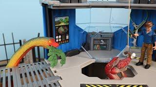 シュライヒ恐竜のおもちゃ『ダイノリサーチステーション』プレイセット