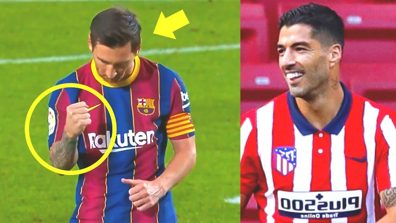This is WHAT MESSI doing FOR LUIS SUAREZ after scoring! Barcelona Villarreal, Fati, Suarez debut