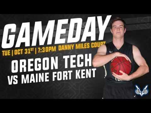 Oregon Tech Men's Basketball vs University of Maine at Fort Kent Highlights