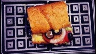 와플기계로 서브웨이 샌드위치 와플 만들기  #Short…