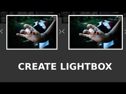 How To Make Image Lightbox In Html Css And Jquery By | Web Xperts Kamal Malhotra 2019