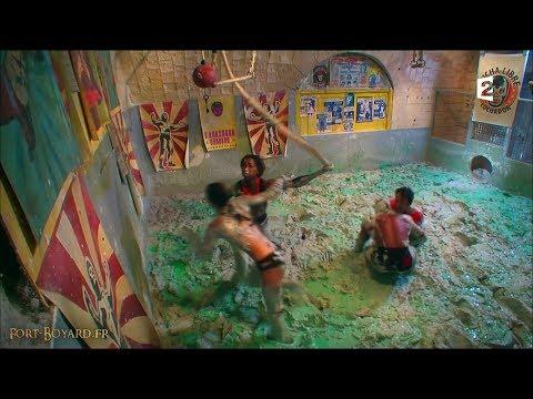 Fort Boyard 2017 - Hapsatou Sy & Vincent Cerutti dans la Double lutte