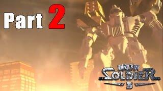 Iron Soldier 3 [PSX] part 2 (Mission 5, 6, 7 & 8)