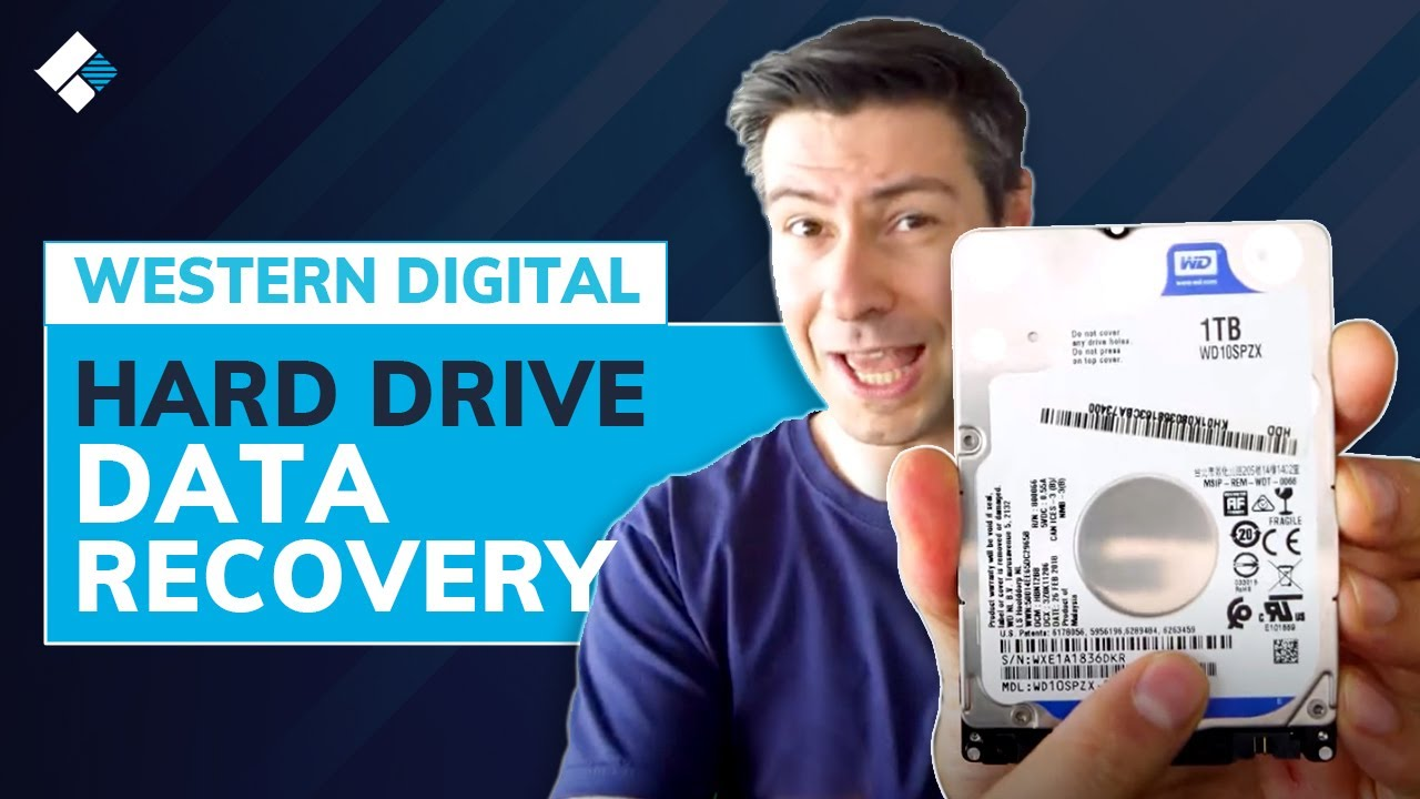How to Recover Data From Western Digital External Hard Drive? | WD Hard Drive Recovery