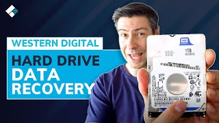 How to Recover Dąta From Western Digital External Hard Drive?   WD External Hard Drive Recovery