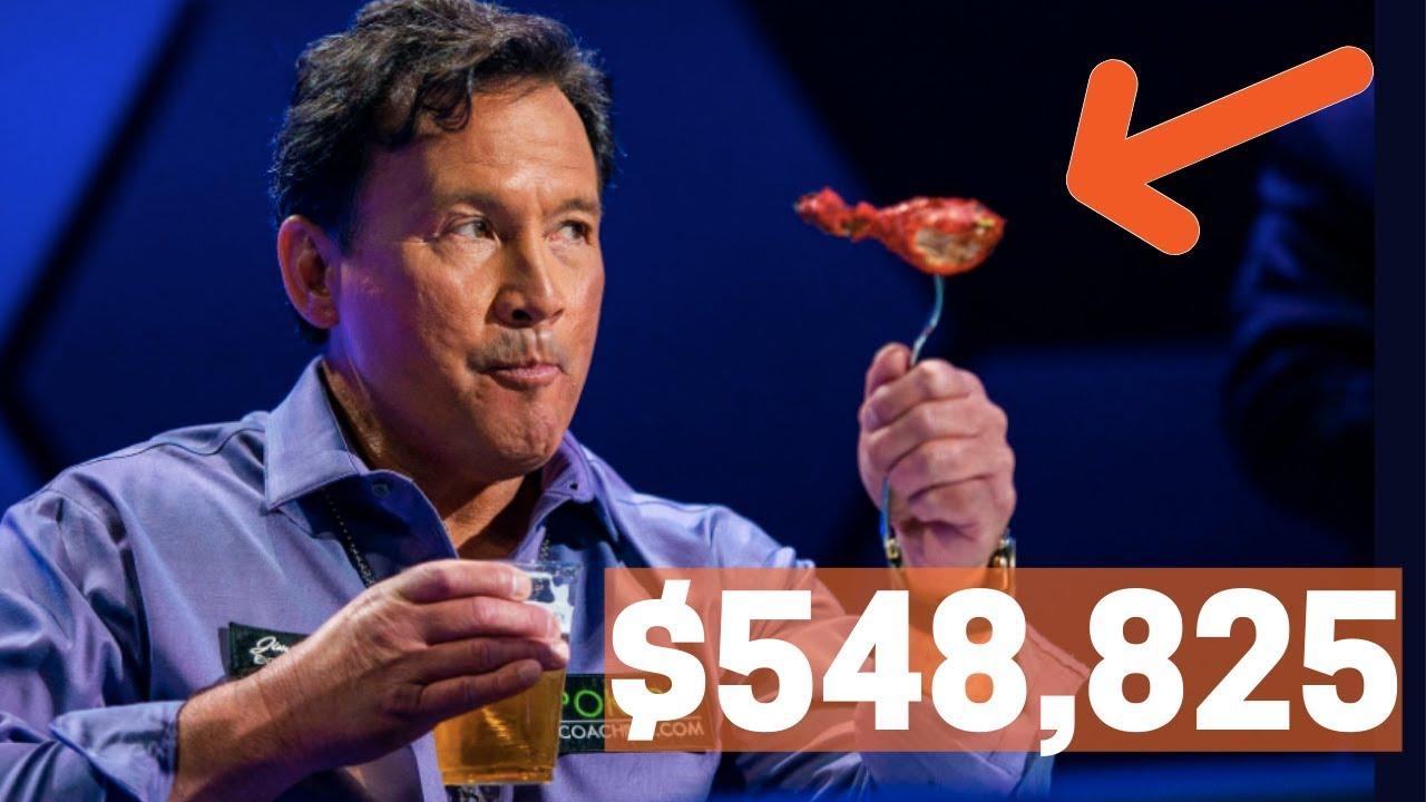 Winner Winner Chicken Dinner: Poker Player Eats, drinks and WINS