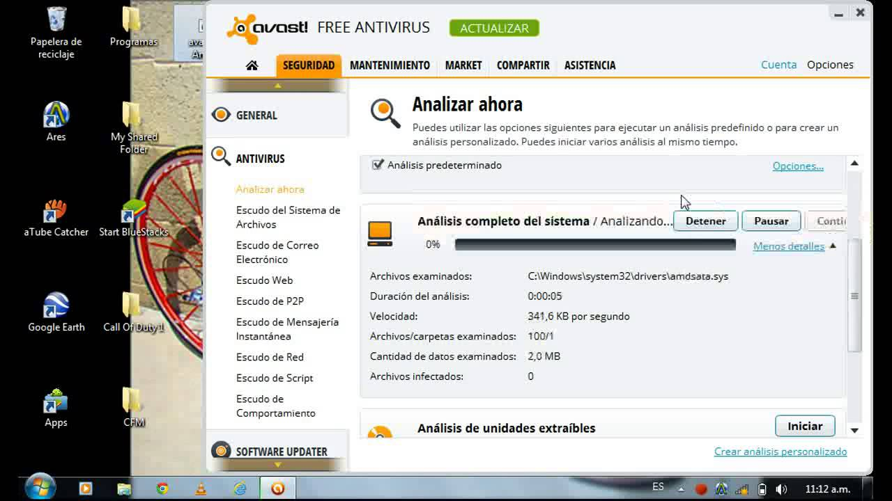 how to make exclusion with avast