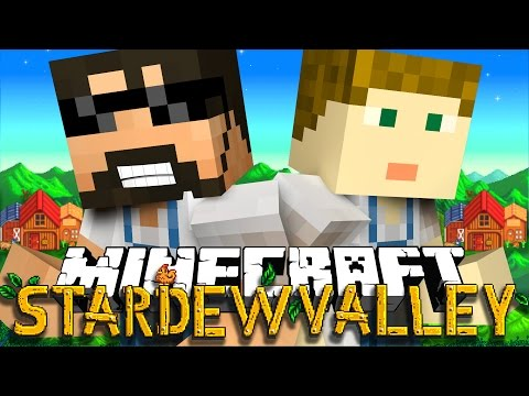 Make Minecraft: STARDEW VALLEY | MEETING OUR GIRLFRIENDS!! #1 Pictures