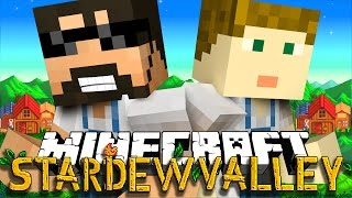 Minecraft: STARDEW VALLEY | MEETING OUR GIRLFRIENDS!! #1 thumbnail