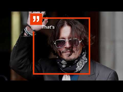 Amber Heard's accounts of abuse were a hoax, Johnny Depp says