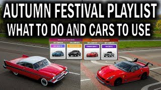 """Forza Horizon 4 """" Autumn Festival Playlist With Weekly Challenges And New Cars"""""""