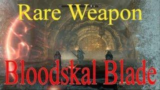 Skyrim Dragonborn DLC: Rare Weapon- Bloodskal Blade