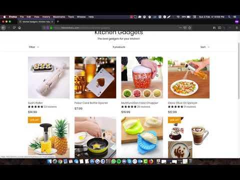 1] Shopify - Store Creation & Optimization   [Premium Themes