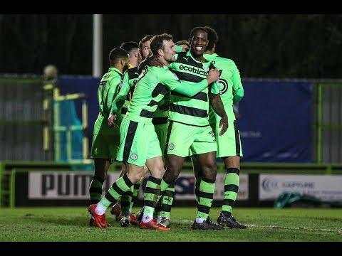 HIGHLIGHTS: Forest Green Rovers 3 Stevenage 1
