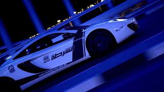 Dubai Police Department setzt Luxusautos in Szene