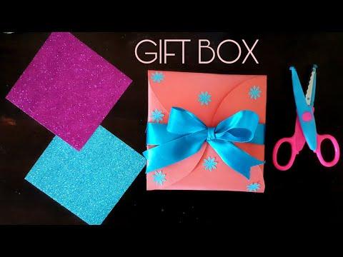 Paper gift box - Easy DIY
