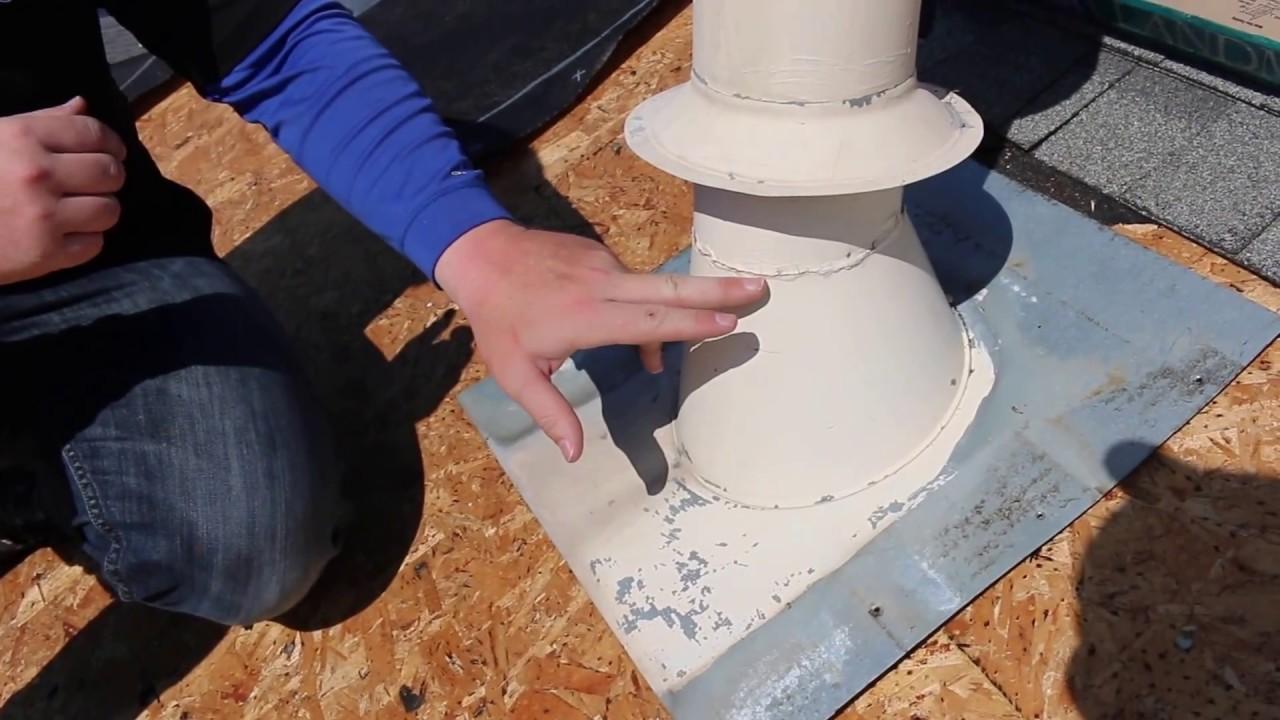 Roofer Training Storm Collar Roof Leak Youtube