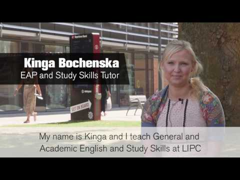 De Montfort University, Leicester International Pathway College: Teacher (Kinga)