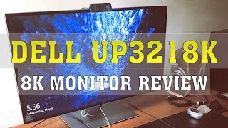 Dell UP3218K Review | World's First 8K Monitor Review | TRUE 8K (7680x4320) | ThirtyIR