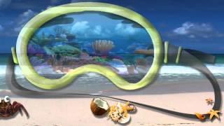 а рыбы в море плавают вот так видео