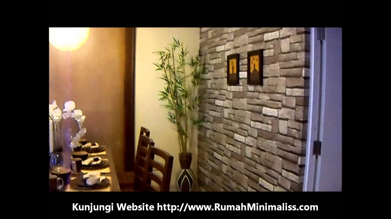 Interior Rumah Minimalis Ruang Keluarga Dapur YouTube