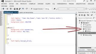 Stylos con html y codigo asp