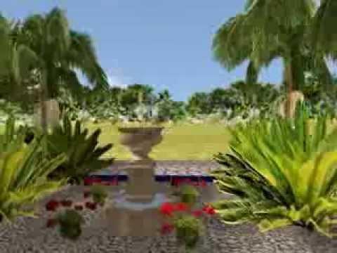 Landscaping Design Ideas Moroccan Garden - YouTube