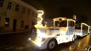 Рождество из окна автомобиля 'Вильнюс 2018'