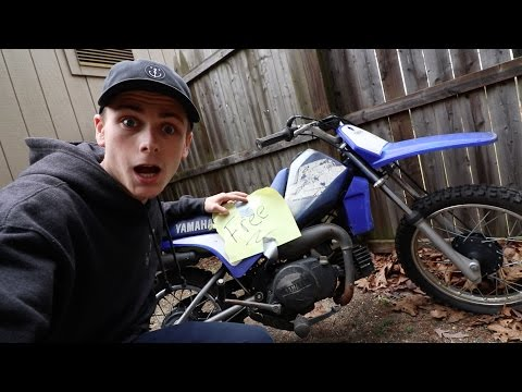 FOUND A FREE DIRTBIKE!
