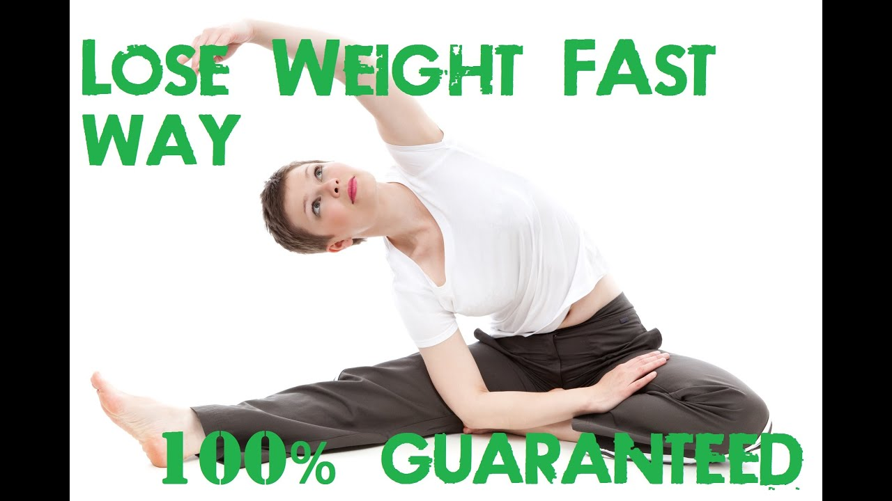 Lose Weight Fast Without Exercise From 1 Week To 1 Month