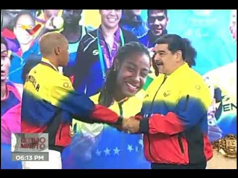 Presidente Maduro recibió y condecoró a Yulimar Rojas, 16 septiembre 2021