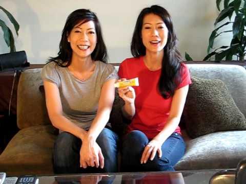 Neosporin  Beauty Consultants Twins Ada Tai and Arlene Tai