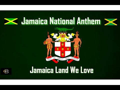 Jamaica National Anthem Vocal & Lyrics : Jamaica Land We Love [HD] Video