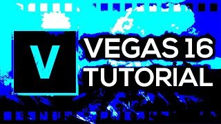 Sony Vegas- Editing Basics 101 (BEGINNER'S GUIDE) In this video I cover the editing basics of the so.