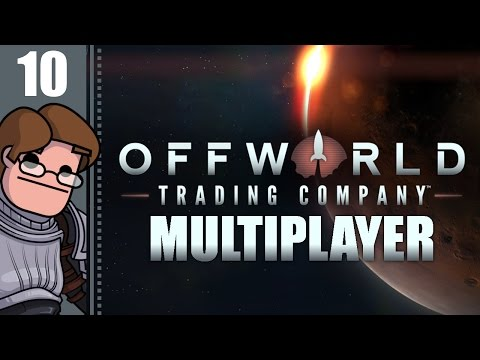 Let's Play Offworld Trading Company Multiplayer Part 10 - A Close Race