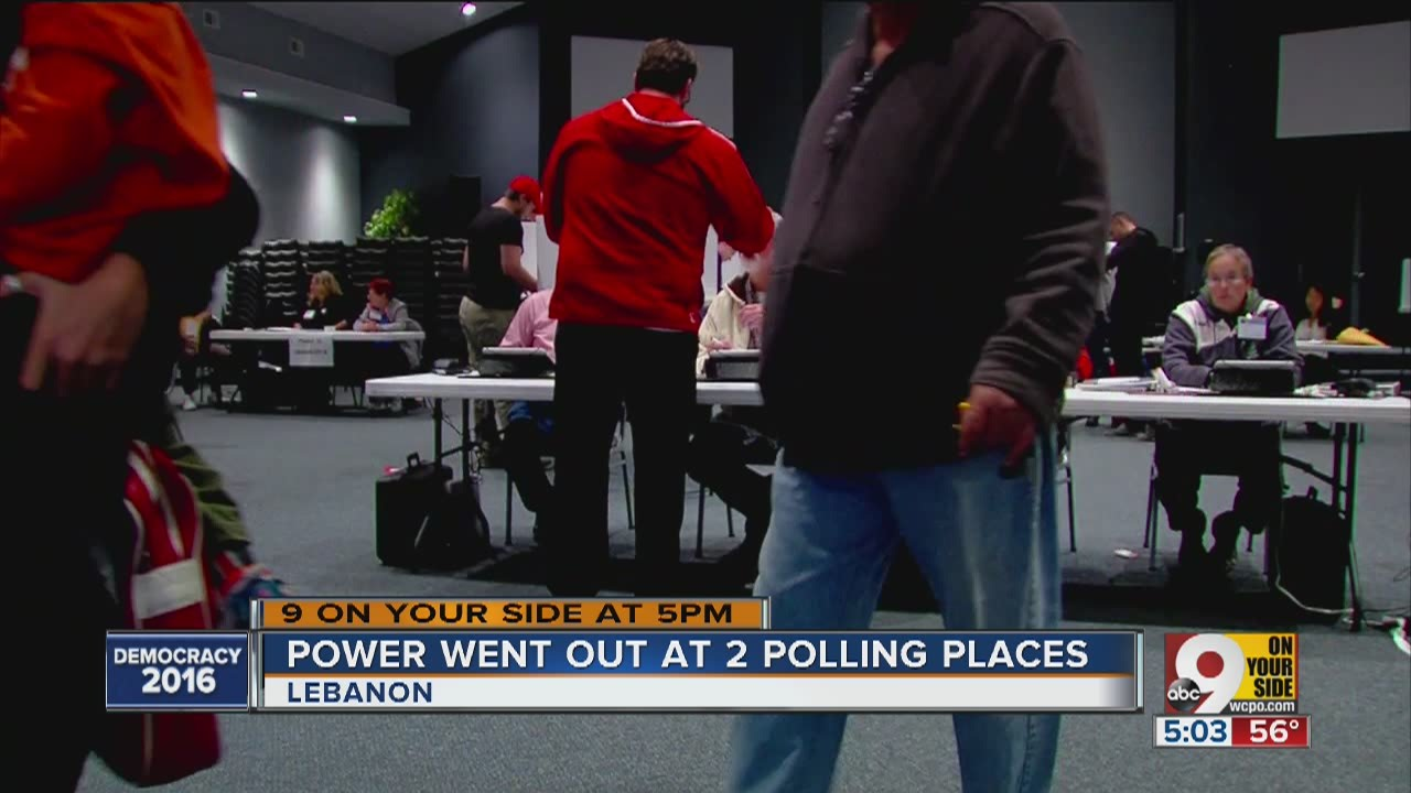 Power outages in nky - Power Goes Out At Two Warren County Polling Places 2016 11 20