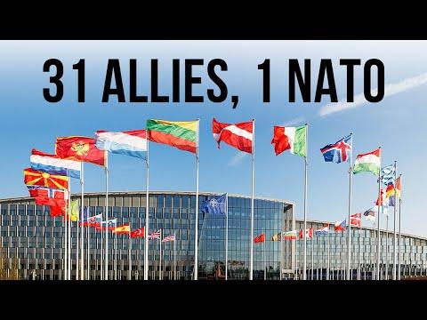 30 Allies, 1 NATO