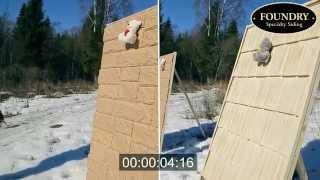 Тестируем фасадные панели на горючесть Foundry(Фасадные панели Foundry http://foundry-siding.ru/ Натуральный вид панелей достигается с помощью более чем 100 уникальных..., 2015-04-08T06:52:16.000Z)