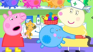 Peppa Pig Official Channel | More Stuffing for the Elephant Doll at the Doll Hospital