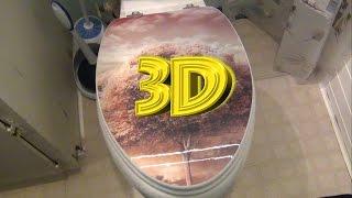 3D Toilet Seat