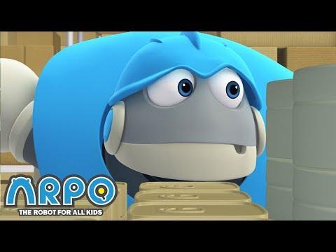 Arpo LOSES Baby Daniel!! - ARPO the Robot | 에피소드를보고 | Cartoons for Kids | Robot Animation