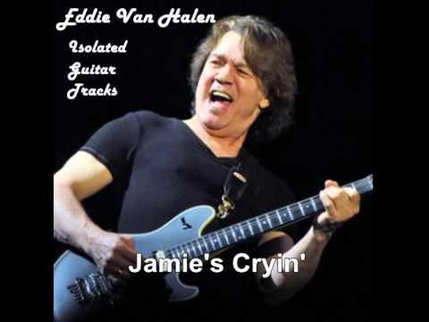 """Van Halen Guitar Track """"Jamie's Cryin'"""""""
